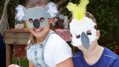 These DIY masks are a great way to involve kids in the build-up to your party. They'll be so proud to show off their creations to family and friends.