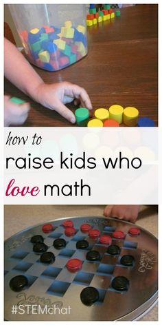 how to raise kids who love math #weteach