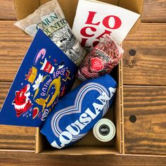"""Find Love in All the Local Places"" with our September Louisiana Lagniappe Box."