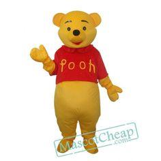 Winnie the Pooh Mascot Adult Costume bear mascot costumes