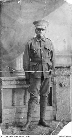 Private William Punch, Goulburn's Indigenous Digger. Photo: National War Memorial