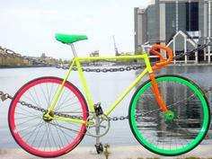 #neon #bright #bike