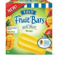 Edy's Mango Fruit Bars
