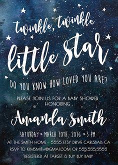 moon indigo baby shower invitation