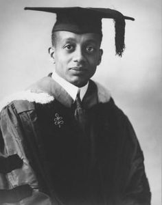 Alain Leroy Locke became the first African American Rhodes Scholar after graduating from Harvard University in 1907. He was also very influential and helpful during the Harlem Renaissance. Dr. Locke was very close to Langston Hughes, Countee Cullen, Jean Toomer, and Rudolph Fisher.
