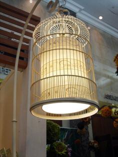 What decorative Bird Cage Lamp?