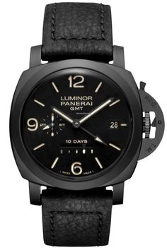Panerai [NEW] Luminor 1950 10 Days GMT Ceramica 44mm PAM 335 (Retail:HK$131,800) ~ SPECIAL OFFER: HK$97,000.
