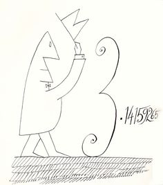 Saul Steinberg, poetry, simplicity, uncluttered