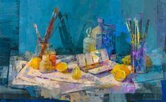 Aroma de limon y trementina - 100x62 cm