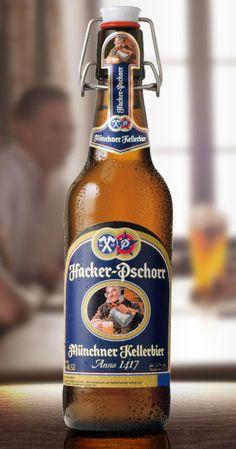 Hacker-pschorr Kellerbier anno 1417