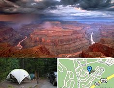The 15 Best Campground Destinations in the USA... This might as well be a checklist for future Travel Pathway programs!  Mather Campground:Grand Canyon  Moraine Campground, Colorado  Malibu Creek State Park  Big Sycamore Canyon Camprground  Guadalupe State Park River, TX