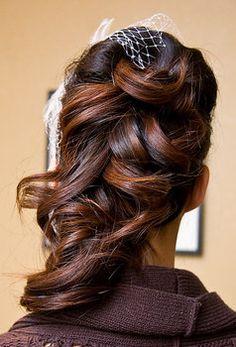 Wedding, Hair, Makeup, Bridal, Flower, Veil, Jewelry, Accessories