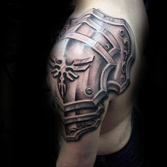 Cool male armor plate arm tattoos arm tattoos for guys, cool arm tattoos, wicked Armour Tattoo, Body Armor Tattoo, Body Art Tattoos, Hand Tattoos, Tattoos Pics, Buddha Tattoos, Retro Tattoos, Upper Arm Tattoos, Arm Tattoos For Guys