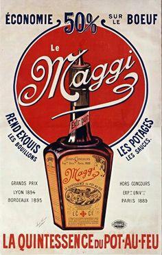 """"""" Maggi, Maggi et vos idées ont du génie """" / On en mettait partout et on le…"""