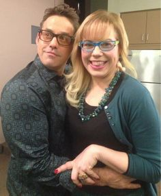 They're such a cute couple; Penelope Garcia and Kevin Lynch!--too bad she went and said no when he asked her to marry him! Dumbest thing that Penelope has ever done!