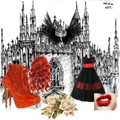 Red Queen by without-you-im-happy on Polyvore