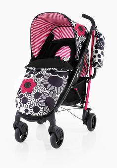 Cosatto YO! Special Edition Stroller and Accessories- Mono Bloom