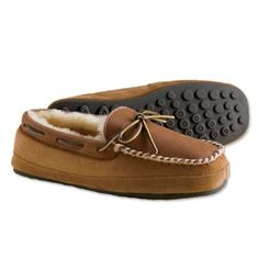 6f1b4568cf67 Otter Creek Moccasin Slippers Orvis.  129.00 Shearling Slippers