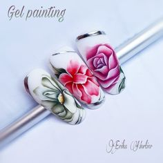 Nail Art Designs, Russia, Nails, Painting, Finger Nails, Ongles, Painting Art, Nail, Paintings