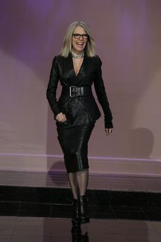 Amazing Celebrity Bodies Over 40  Diane Keaton is so cool.