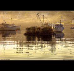 Maine Lobster Fishing Village
