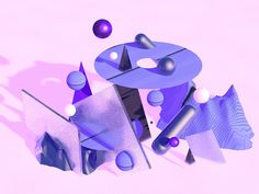 Purple City designed by MadeByStudioJQ. Connect with them on Dribbble; the global community for designers and creative professionals. Purple City, Graphic Illustration, Illustrations, Dashboard Design, Cinema 4d, Fractal Art, 3d Design, Art Reference, Oddly Satisfying