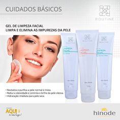 Conheça nossa linha completa da Routine no nosso site!!! #hinode #beleza #cuidadoscomapele #limpezadepele #maquiagem