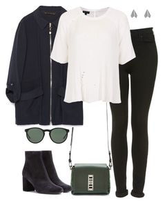 """""""Untitled #4055"""" by eleanorsclosettt ❤ liked on Polyvore featuring Proenza Schouler, Zara, Topshop, Yves Saint Laurent and Polo Ralph Lauren"""