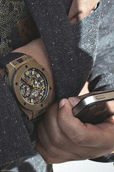 f9f32e715e1 Beautiful piece of art—Hublot Ferrari Magic Gold Unico.