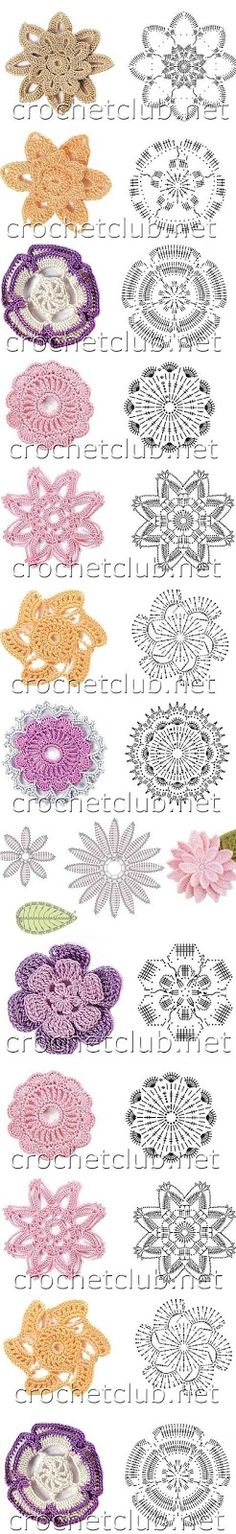 flores+de+crochet.JPG 246×1600 pikseliä
