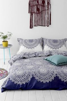 They have this comforter in the blue and then a grey if we wanna look at it!