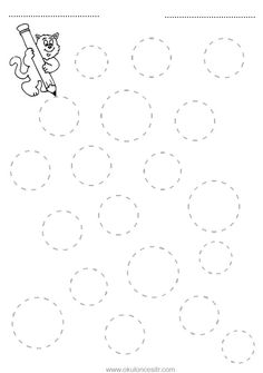 Circle concept of how the worksheet is drawn and the rounded . Shapes Worksheets, Tracing Worksheets, Preschool Worksheets, Kindergarten First Week, Homeschool Kindergarten, Teaching Kids, Kids Learning, Preschool Writing, Sample Paper