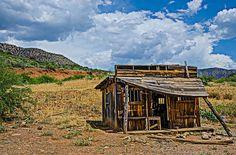 Abandoned Shack Salt River Canyon, Arizona
