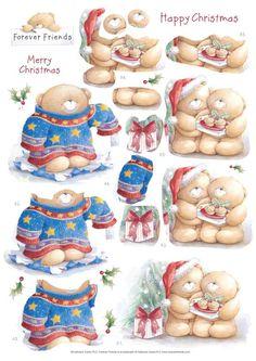 . Christmas Sheets, Christmas Topper, 3d Christmas, Christmas Makes, Christmas Cards To Make, Xmas Cards, Christmas Projects, Vintage Christmas, Kirigami