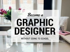 In this blog post I'm giving you the exact steps and resources I used to become a graphic designer without going to school. It is entirely possible to build a successful career as a designer without formal education.