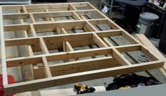 top and bottom bed frames stacked on top of each other to show placement