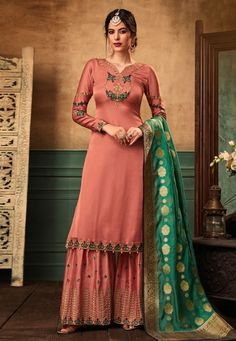 Grab the second look in this elegant attire for this season. This beige net a line lehenga choli is accenting the gorgeous feeling. The ethnic embroidered and patch border work on the attire adds a si. Robe Anarkali, Net Lehenga, Bridal Lehenga Choli, Anarkali Suits, Punjabi Suits, Lehenga Style, Ghagra Choli, Designer Anarkali, Indian Dresses
