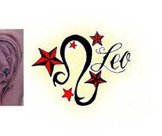 Image result for soft feminine leo tattoo design in nature