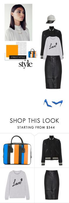 """""""Street Style Savvy!"""" by cinnamonrose30 ❤ liked on Polyvore featuring Comme des Garçons, Yves Saint Laurent, Chinti and Parker, Reiss, Dolce&Gabbana and Mercedes-Benz"""