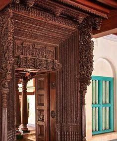 Trendy Home Vintage Decoration Curtains Traditional Curtains, Traditional Interior, Traditional House, Chettinad House, Art Deco Furniture, Indian Furniture, Vintage Furniture, Royal Furniture, Indian Interiors