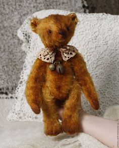 Купить PDF Выкройка Медведь Золотая Амбра - золотой, artmary, выкройка мишки, мишка тедди