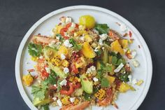 Giving us two of our 5-a-day, this colourful salad also uses quinoa – it's a…