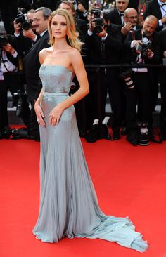 Cannes 2014: The best dressed celebrities on the film festival's red carpet // Rosie Huntington-Whiteley in Gucci