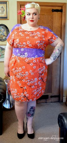 Sugar, Darling?: Tokyo Blossom - An Outfit Post & Grazia Floral Print Dress Review