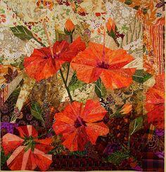 the big orange hibiscus, via Flickr.