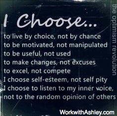 don't let others define you or your choices    #DefineYourAll