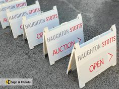 Make your yard and real estate signs attractive, unique and usable by engaging the sign makers at Sign and Fitouts. Real Estate Signs, Us Real Estate, Building Signs, Shop Buildings, Sign Maker, Advertise Your Business, Commercial Real Estate, Can Design, Real Estate Marketing
