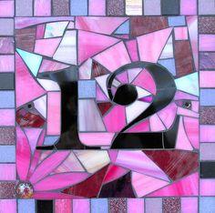 House Number Mosaic, Long Ashton Mosaic Gifts