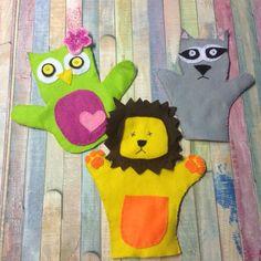 Diy handpuppets made them myself