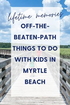 Where to go & what to see in and around Myrtle Beach from a local mom's perspective - get outdoors and explor all the cool things the Grand Strand area has to offer. Myrtle Beach Things To Do, Local Moms, Get Outdoors, Where To Go, Beats, Perspective, Perspective Photography, Point Of View